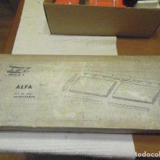Radio Control: KIT DE ALAS ENCHAPADAS ALFA DE HOBBY SKY. Lote 145837882