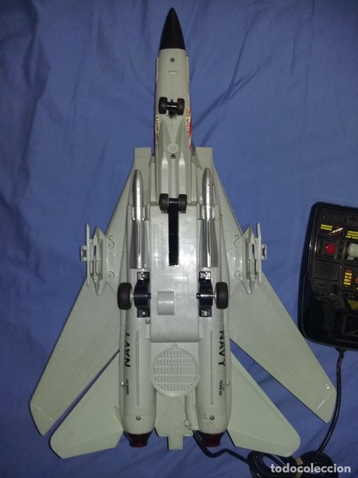 Radio Control: gran Avión f14 Cazabombardero Tomcat US Navy radio control teledirigido New Bright mide 60 cm - Foto 4 - 145877882