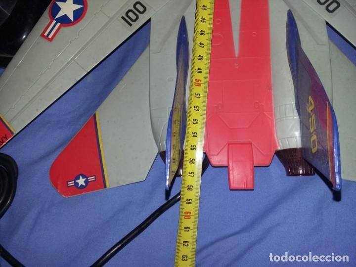 Radio Control: gran Avión f14 Cazabombardero Tomcat US Navy radio control teledirigido New Bright mide 60 cm - Foto 9 - 145877882