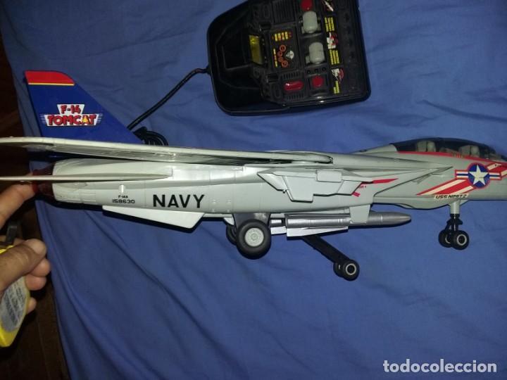 Radio Control: gran Avión f14 Cazabombardero Tomcat US Navy radio control teledirigido New Bright mide 60 cm - Foto 12 - 145877882