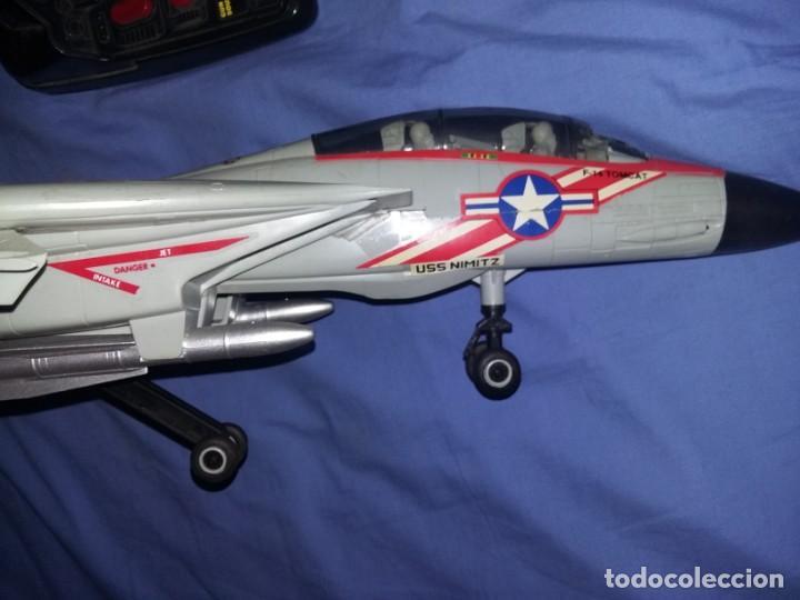 Radio Control: gran Avión f14 Cazabombardero Tomcat US Navy radio control teledirigido New Bright mide 60 cm - Foto 13 - 145877882