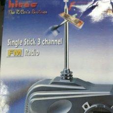 Radio Control: EMISORA HITEC 3 CANALES 35 MHZ Y 2 SERVOS.NUEVA.ENVIO INCLUIDO. Lote 147234348