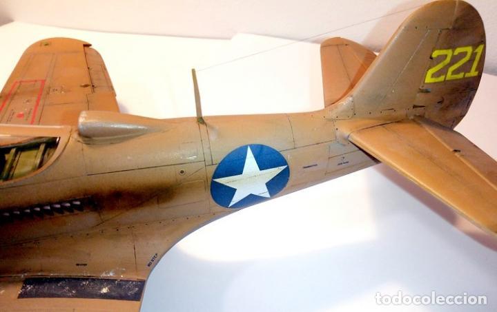 Radio Control: Caza americano 2ª guerra mundial P 400 Airacobra (Oferta) - Foto 10 - 148686798