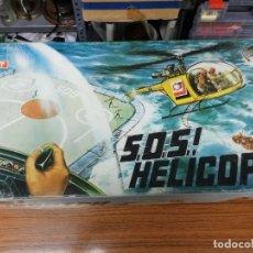 Radio Control: JUGUETE SOS HELICOPTER. FUNCIONA, CON SU CAJA!. CONGOSTO AÑO 79. OJO LA CAJA ALGO DESPEGADA.. Lote 150367958