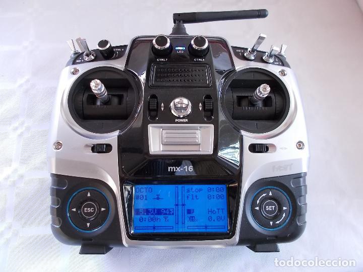 RADIOCONTROL GRAUPNER MX-16 HOTT (Juguetes - Modelismo y Radiocontrol - Radiocontrol - Aviones y Helicópteros)