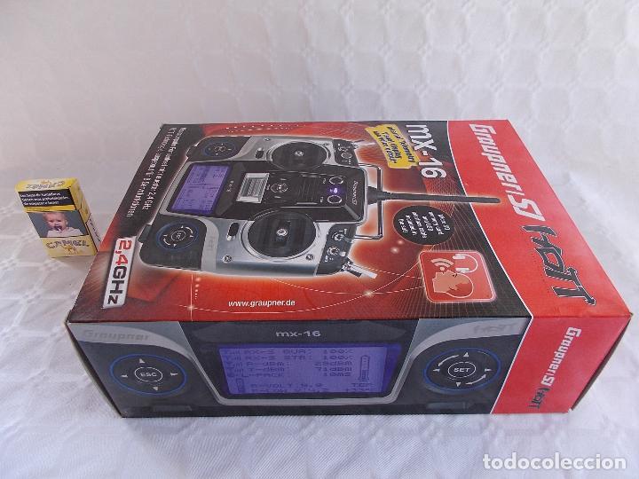 Radio Control: RADIOCONTROL GRAUPNER MX-16 HOTT - Foto 12 - 189686501