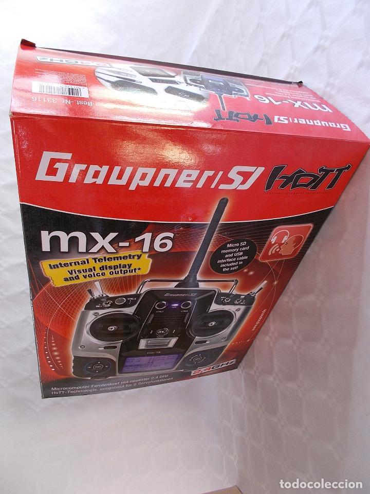 Radio Control: RADIOCONTROL GRAUPNER MX-16 HOTT - Foto 13 - 189686501