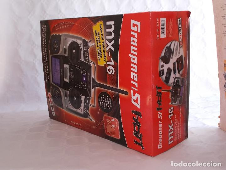 Radio Control: RADIOCONTROL GRAUPNER MX-16 HOTT - Foto 14 - 189686501