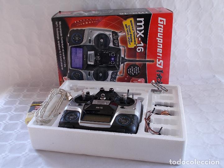 Radio Control: RADIOCONTROL GRAUPNER MX-16 HOTT - Foto 17 - 189686501
