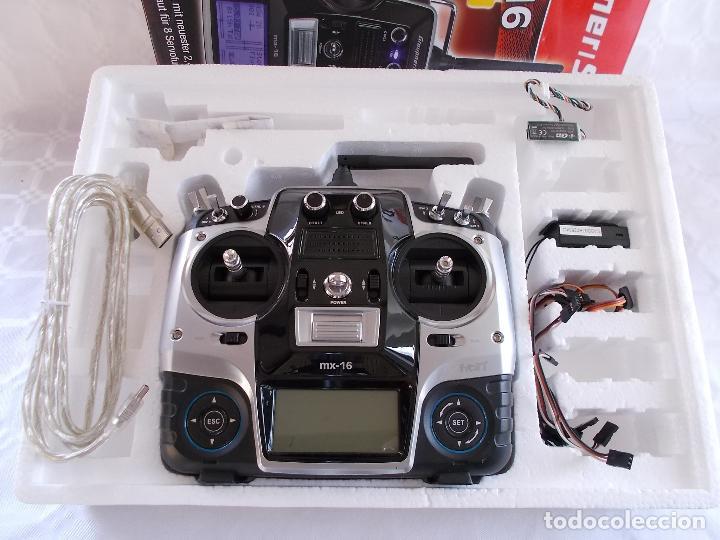 Radio Control: RADIOCONTROL GRAUPNER MX-16 HOTT - Foto 2 - 189686501