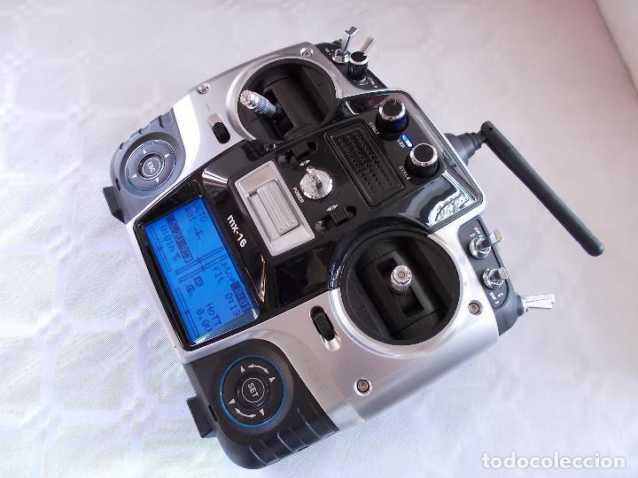 Radio Control: RADIOCONTROL GRAUPNER MX-16 HOTT - Foto 3 - 189686501