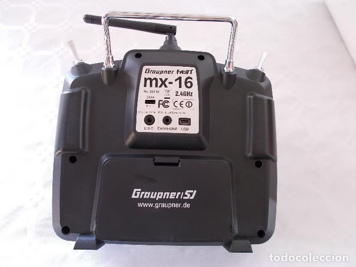 Radio Control: RADIOCONTROL GRAUPNER MX-16 HOTT - Foto 4 - 189686501