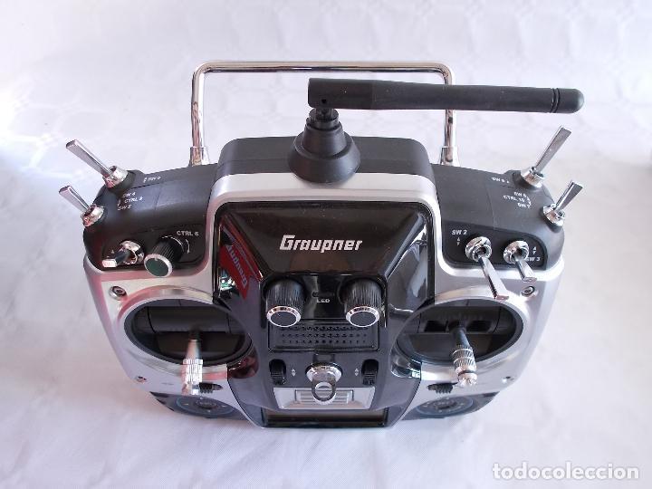 Radio Control: RADIOCONTROL GRAUPNER MX-16 HOTT - Foto 6 - 189686501