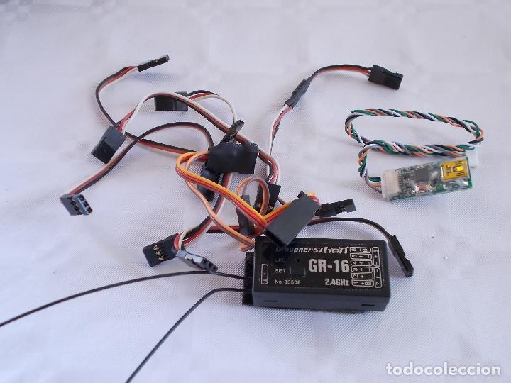 Radio Control: RADIOCONTROL GRAUPNER MX-16 HOTT - Foto 7 - 189686501