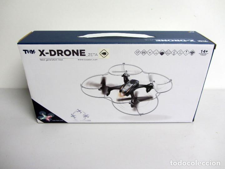 Radio Control: X-Drone Zeta ToyLab. Cámara video-photo HD. Tarjeta miniSD. Bateria de Litio USB 4 chanels. - Foto 1 - 176678965