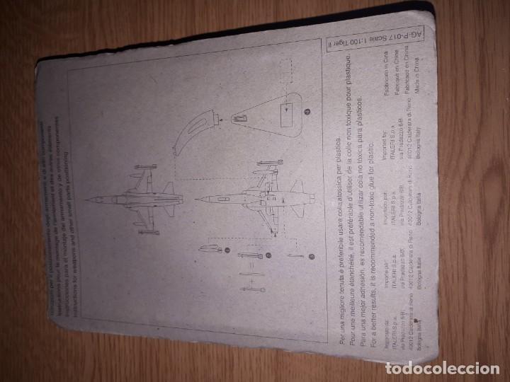 Radio Control: AVION DE COMBATE ESCALA 1/100 FABBRI TIGER II - Foto 4 - 150962558