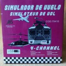 Radio Control: MANDO 4 CANALES SIMULADOR DE VUELO DE R/C. Lote 151651394