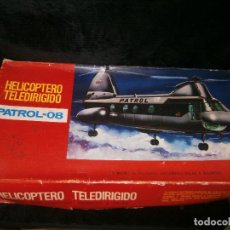 Radio Control: HELICÓPTERO TELERIDIGIDOS PATROL-08. Lote 151766618