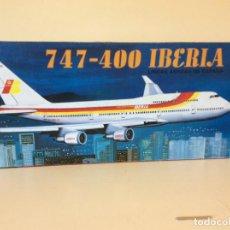 Radio Control: BOEING 747 400 IBERIA ESCALA 1/144 WSN. Lote 154496226