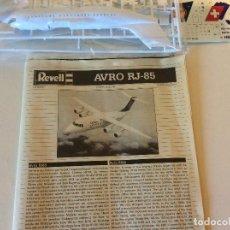 Rádio Controlo: AVRO RJ 85 REVELL. Lote 154498906