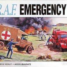 Radio Control: SET DE EMERGENCIAS DE LA RAF A ESCALA 1/76 DE AIRFIX. Lote 155197410