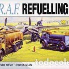 Radio Control: SET DE REABASTECIMIENTO DE COMBUSTIBLE DE LA RAF DE AIRFIX A 1/76 (OCASIÓN). Lote 155198430