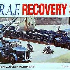 Radio Control: SET DE RECUPERACIÓN AVIONES DE LA RAF SEGUNDA GUERRA MUNDIAL DE AIRFIX A 1/76. Lote 155199498
