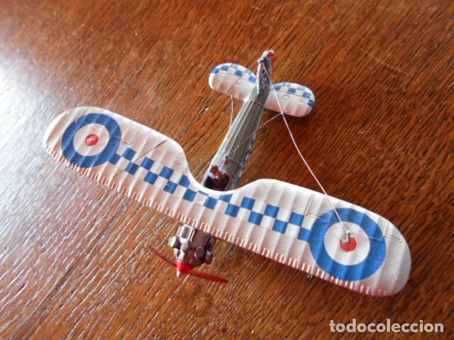 Radio Control: AVIÓN CAZA Bristol Bulldog Británico Modelo Diecast avión de combate K2159 1:72 USADO, PLOMO - Foto 3 - 157789218