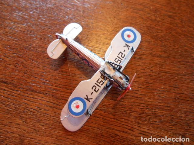 Radio Control: AVIÓN CAZA Bristol Bulldog Británico Modelo Diecast avión de combate K2159 1:72 USADO, PLOMO - Foto 8 - 157789218
