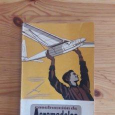 Radio Control: CONSTRUCCION DE AEROMODELOS MALUQUER LIBRO SEIX BARRAL 1943. Lote 160110190