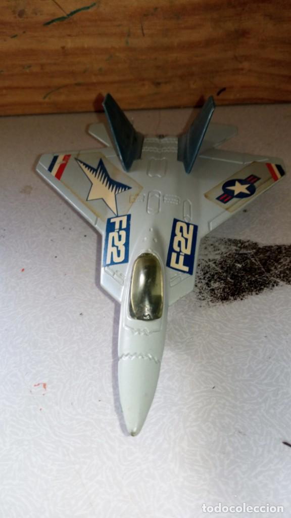 AVIÓN F-22 TOOTSIETOY 1:100 (Juguetes - Modelismo y Radiocontrol - Radiocontrol - Aviones y Helicópteros)