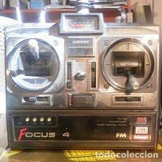 Radio Control: MANDO A DISTANCIA DE AVIÓN AUTOCONTROL FOCUS 4 VER TODAS LAS FOTOS.. Lote 166298018