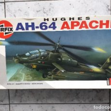 Radio Control: MAQUETA DE MONTAJE. HELICÓPTERO AH-64 APACHE HUGHES 1/48 DE AIRFIX 1992 FRANCE. Lote 167613264