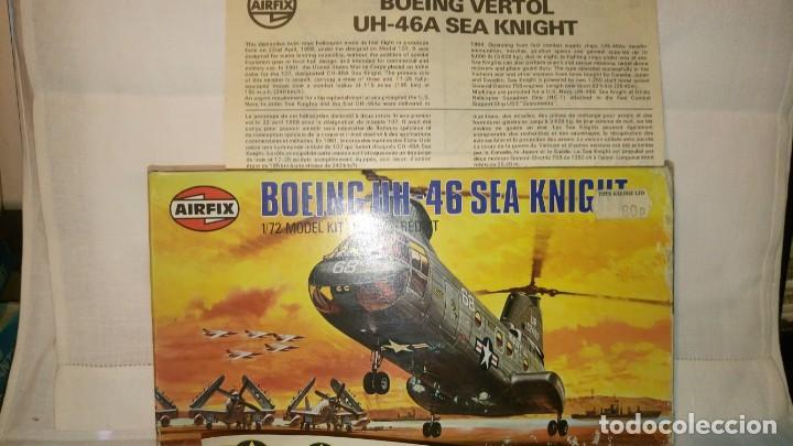 ~~~~ AIRFIX, BOEING UH 46 SEA KNIGHT, SIN MONTAR, ESCALA 1/72, AÑOS 70. ~~~~ (Juguetes - Modelismo y Radiocontrol - Radiocontrol - Aviones y Helicópteros)