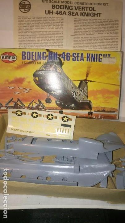 Radio Control: ~~~~ AIRFIX, BOEING UH 46 SEA KNIGHT, SIN MONTAR, ESCALA 1/72, AÑOS 70. ~~~~ - Foto 3 - 167635752