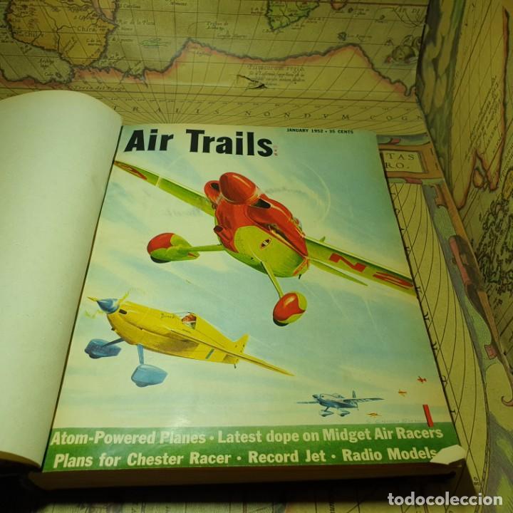 JOYA DEL AEROMODELISMO. REVISTA AIR TRAILS. PRIMER SEMESTRE DE 1952. (Juguetes - Modelismo y Radiocontrol - Radiocontrol - Aviones y Helicópteros)
