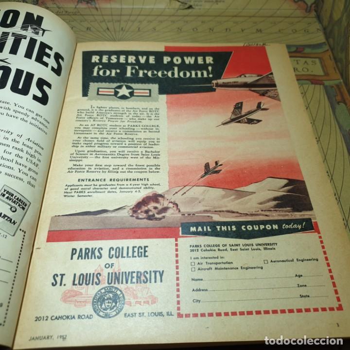 Radio Control: JOYA DEL AEROMODELISMO. REVISTA AIR TRAILS. PRIMER SEMESTRE DE 1952. - Foto 6 - 167783876