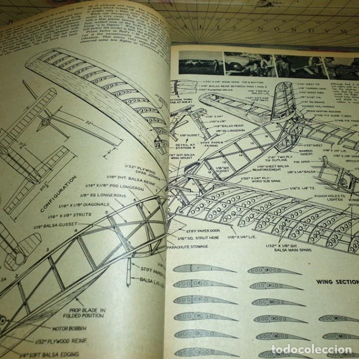 Radio Control: JOYA DEL AEROMODELISMO. REVISTA AIR TRAILS. PRIMER SEMESTRE DE 1952. - Foto 9 - 167783876