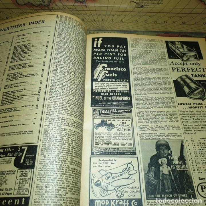 Radio Control: JOYA DEL AEROMODELISMO. REVISTA AIR TRAILS. PRIMER SEMESTRE DE 1952. - Foto 10 - 167783876