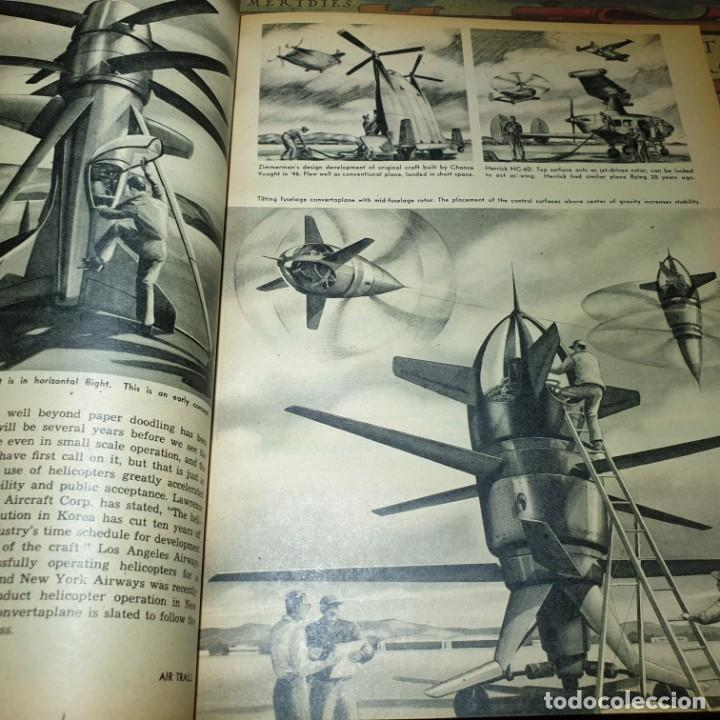 Radio Control: JOYA DEL AEROMODELISMO. REVISTA AIR TRAILS. PRIMER SEMESTRE DE 1952. - Foto 11 - 167783876