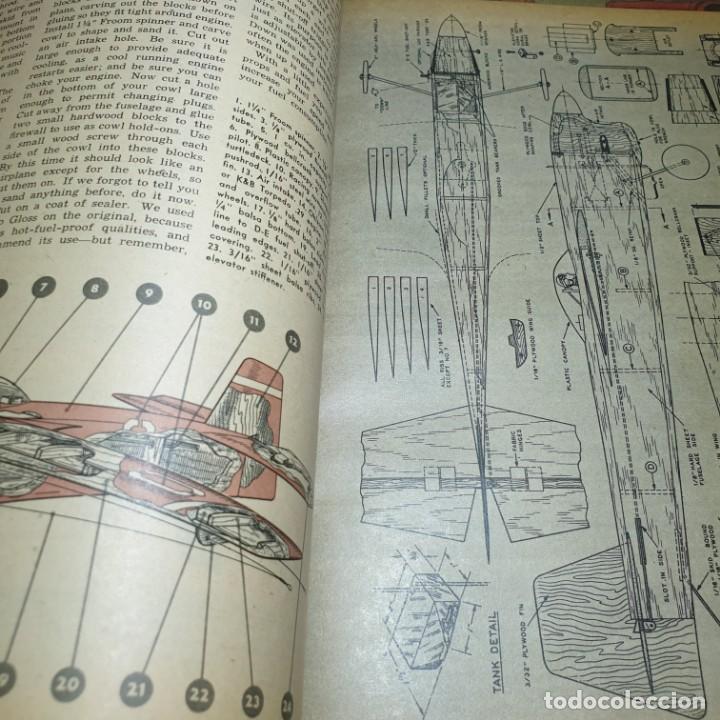 Radio Control: JOYA DEL AEROMODELISMO. REVISTA AIR TRAILS. PRIMER SEMESTRE DE 1952. - Foto 12 - 167783876