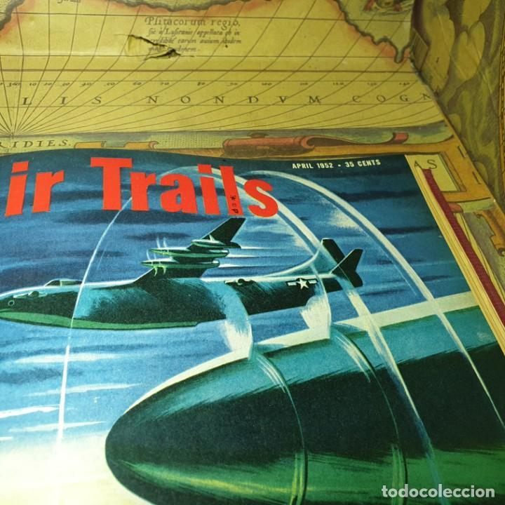 Radio Control: JOYA DEL AEROMODELISMO. REVISTA AIR TRAILS. PRIMER SEMESTRE DE 1952. - Foto 13 - 167783876