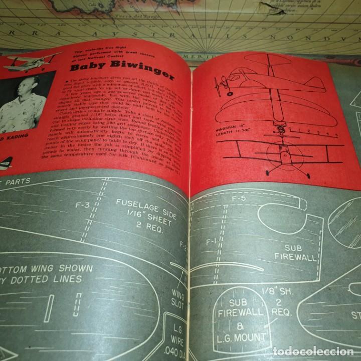 Radio Control: JOYA DEL AEROMODELISMO. REVISTA AIR TRAILS. PRIMER SEMESTRE DE 1952. - Foto 14 - 167783876