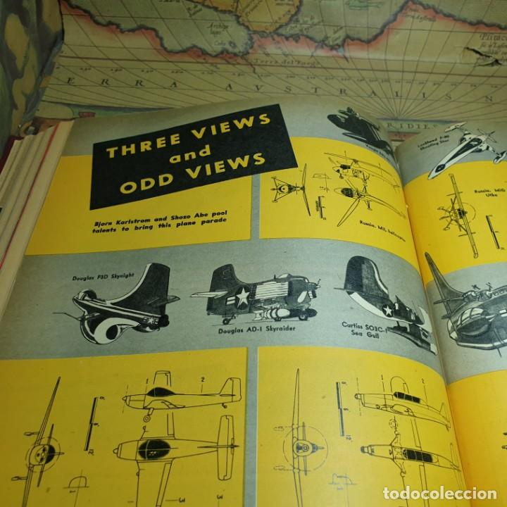 Radio Control: JOYA DEL AEROMODELISMO. REVISTA AIR TRAILS. PRIMER SEMESTRE DE 1952. - Foto 15 - 167783876