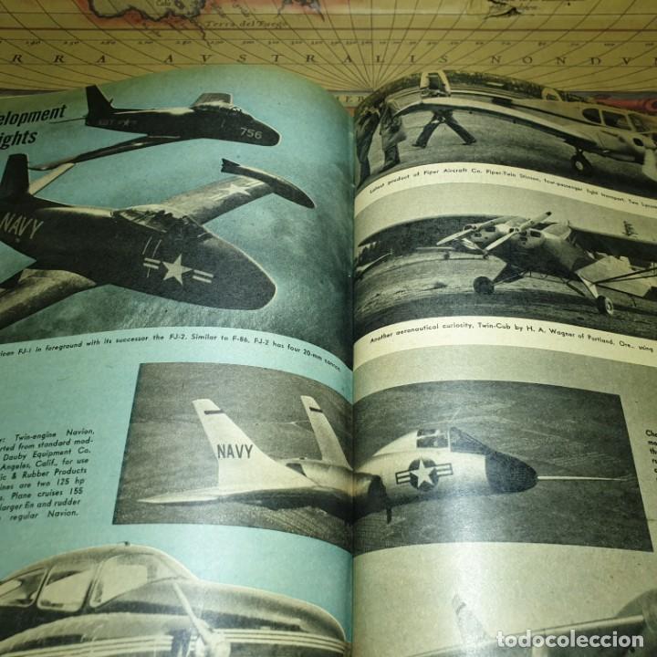 Radio Control: JOYA DEL AEROMODELISMO. REVISTA AIR TRAILS. PRIMER SEMESTRE DE 1952. - Foto 16 - 167783876