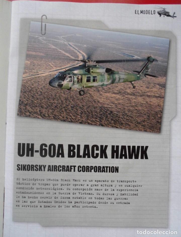 Radio Control: SIKORSKY UH-60A BLACK HAWK USA. METAL ALTAYA ESCALA 1/72 + REVISTA - Foto 2 - 168010804
