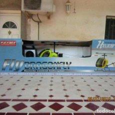 Radio Control: HELICOPTERO DRAGONFLY RADIO CONTROL COMPLETO TAMAÑO GRANDE. . Lote 170343548