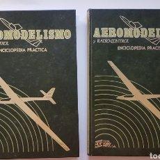 Rádio Controlo: AEROMODELISMO Y RADIOCONTROL ENCICLOPEDIA PRÁCTICA.COMPLETA. 2 TOMOS HOP. EDITA HOBBY PRESS, S.A.. Lote 171625282