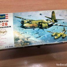 Radiocommande: MAQUETA AVION MARTIN B-26 NUNCA MONTADA CON PEGATINAS Y INTRUCCIONES REWELL ESCALA 1/72. Lote 172156419