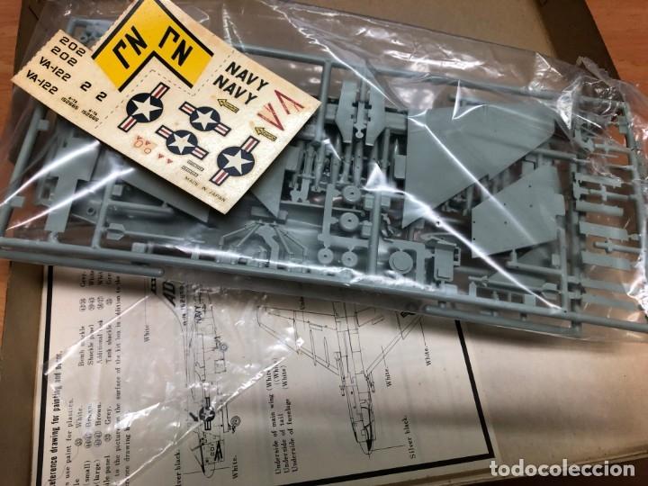 Radio Control: MAQUETA AVION A-7A CORSAIR II NUNCA MONTADA CON PEGATINAS Y INTRUCCIONES HASEGAWA ESCALA 1/72 - Foto 2 - 172157112